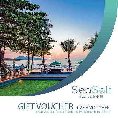 CASH Voucher – Sea Salt Lounge & Grill SD
