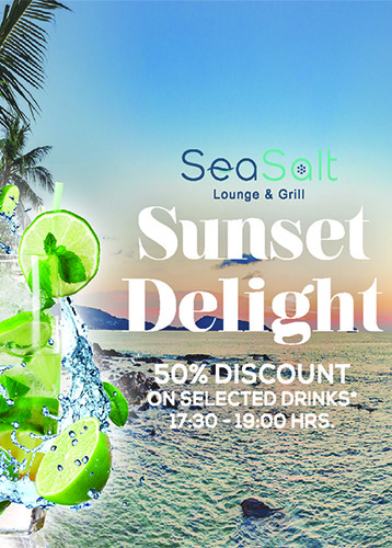 Happy Hour - Sun Set Delight - Sea Salt Lounge & Grill
